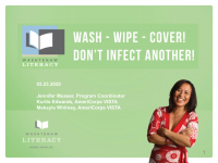 Wash-Wipe-Cover: Don't Infect Another! Tutor Training Workshop